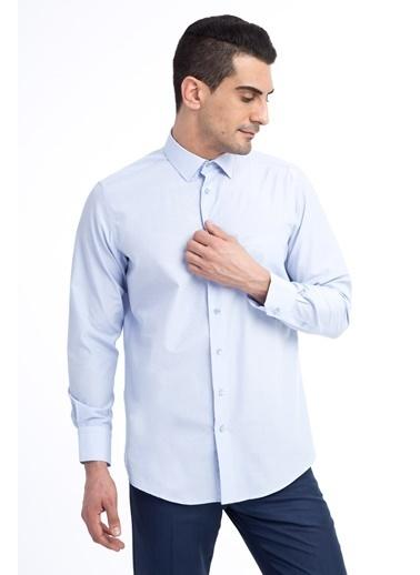 Kiğılı Gömlek Mavi